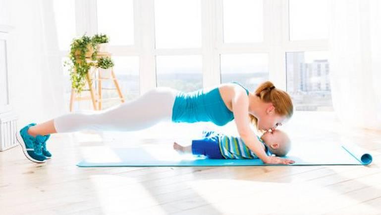 Как похудеть после родов быстро