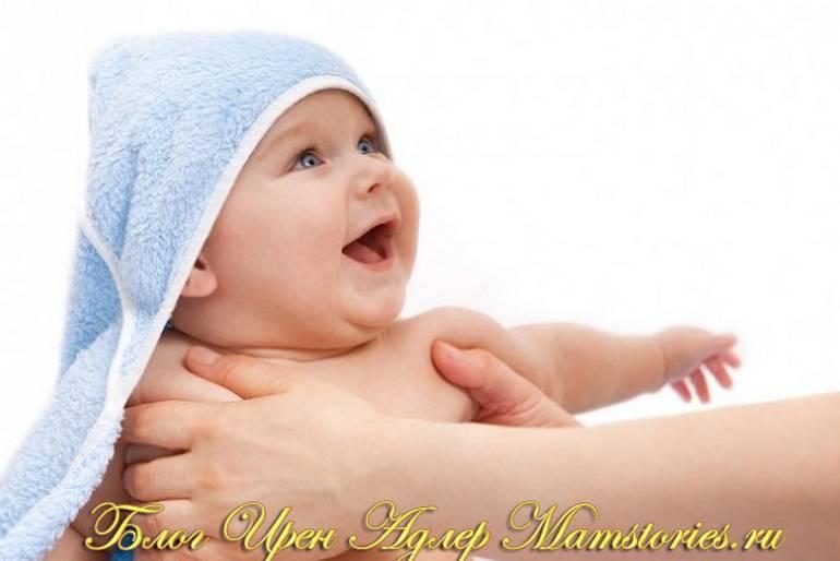 Как купать новорожденного