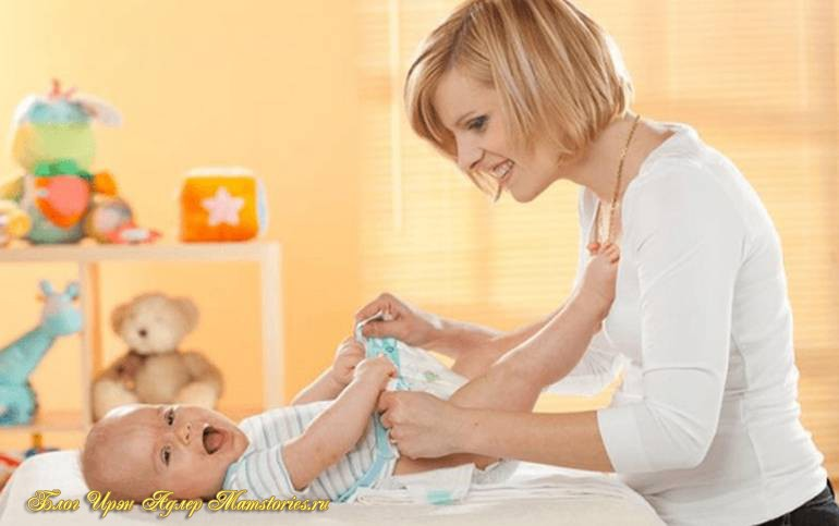 Уход за половыми органами новорожденного