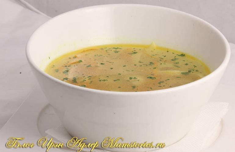 Куриный детский суп