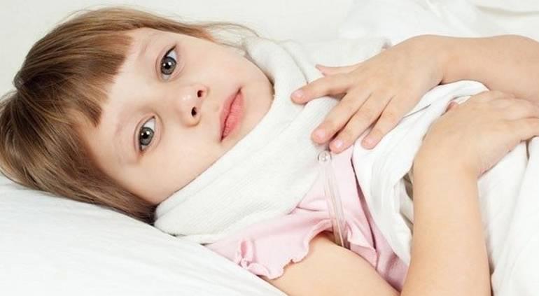 Гнойная ангина чем лечить у детей